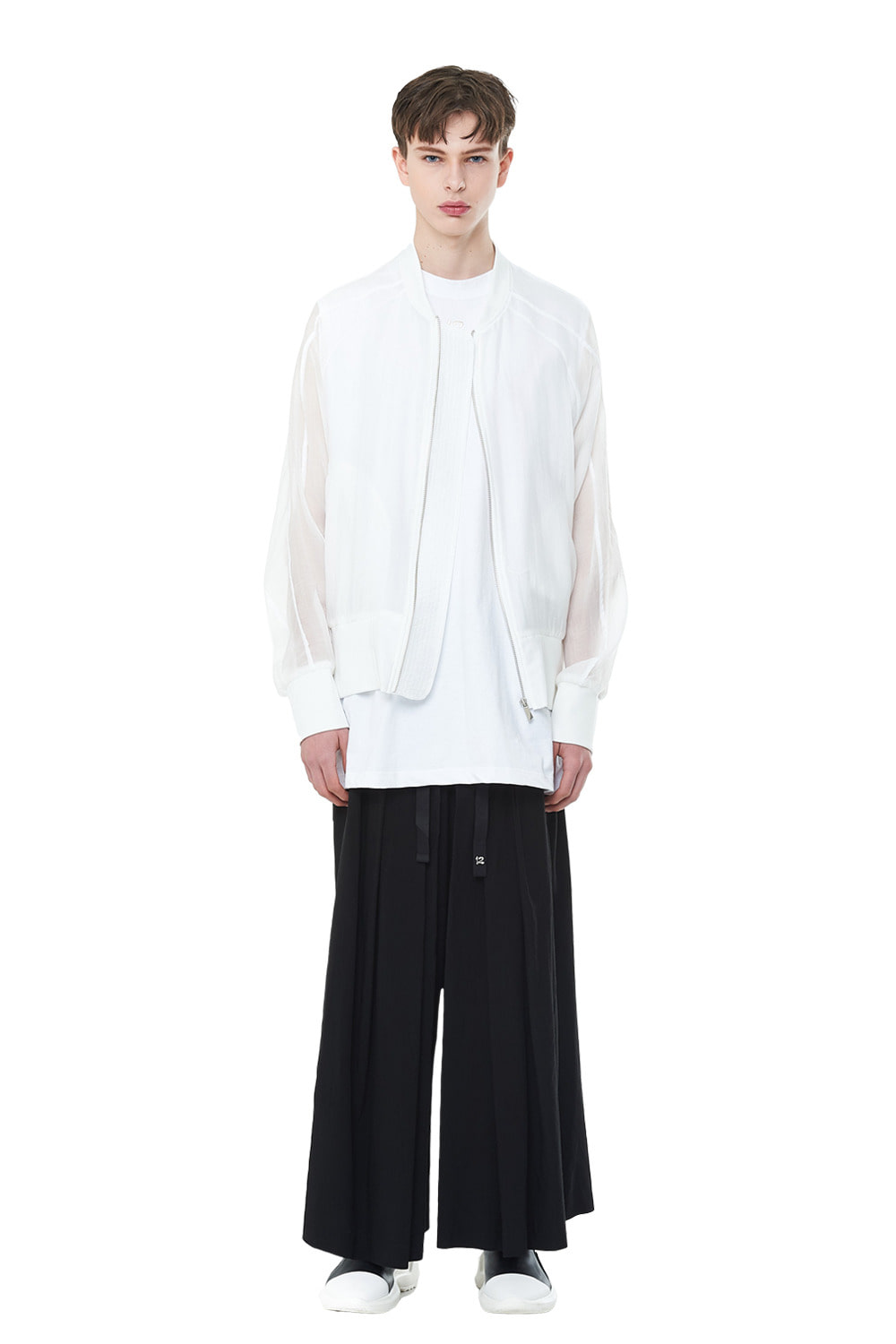 [20SS][50% SALE] See-through Oversize MA-1 (WH)_ PA1JP0404
