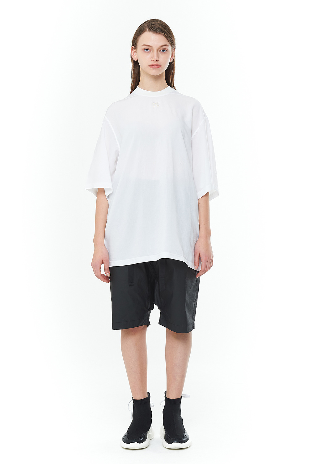 [20SS][15% SALE] Double Face Signature T-Shirts (WH)_ PA1TS1414