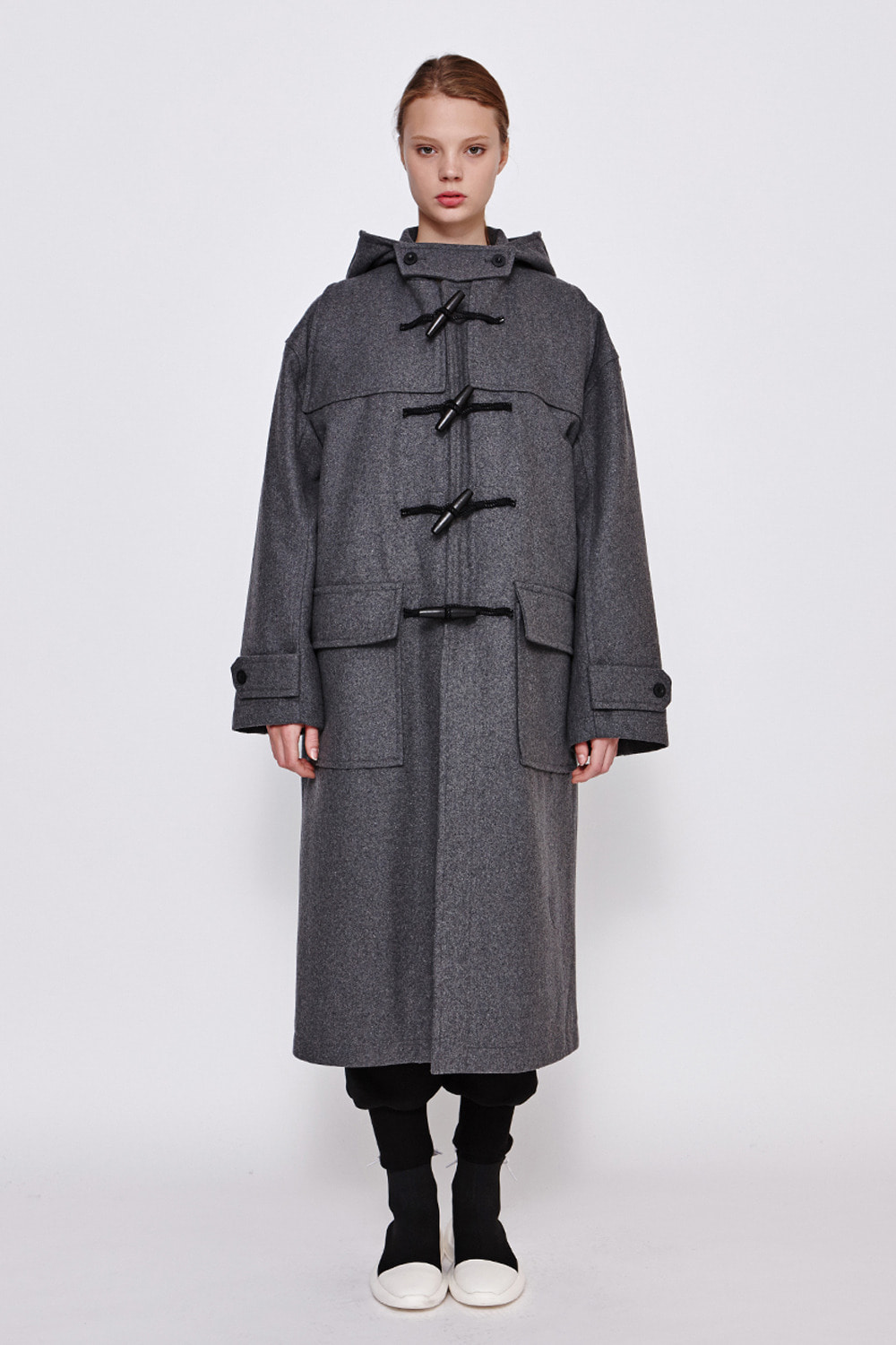 [19FW][60% 세일] Drop Shoulder Duffle Coat (GE)