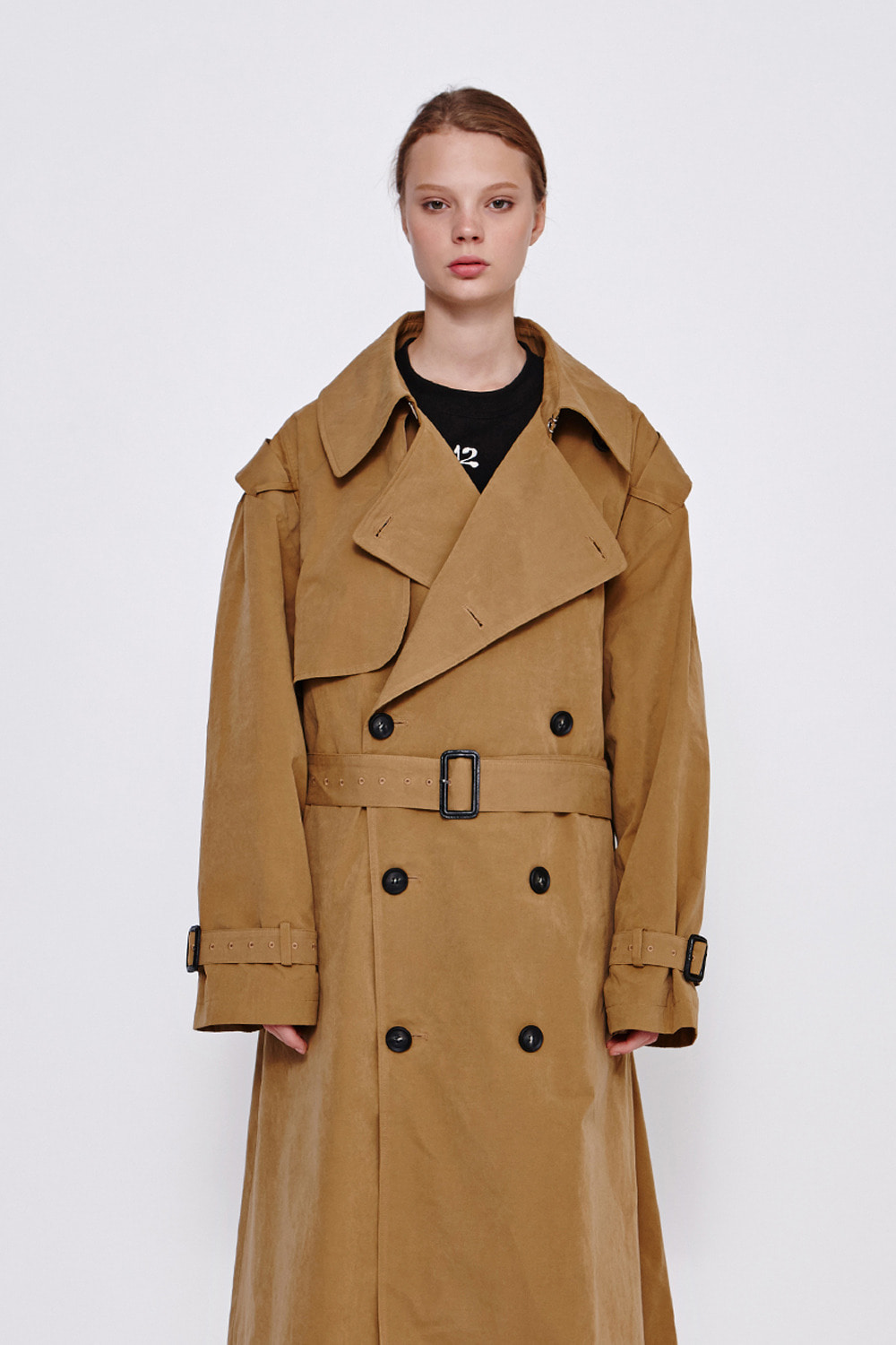 [19FW][60% 세일] Oversize Trench Coat (BE)