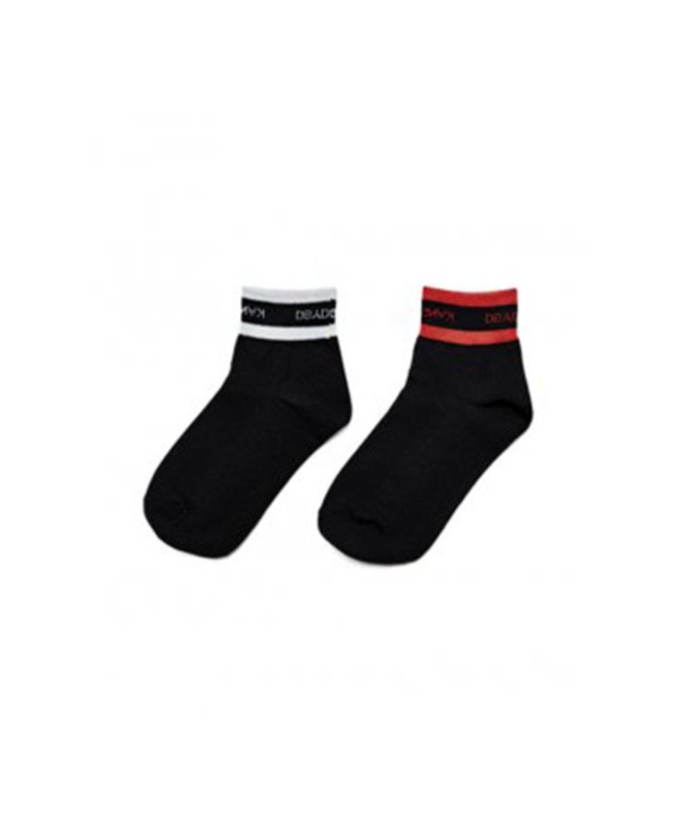 [60% 세일] Logo Ankle Socks (2 color set)