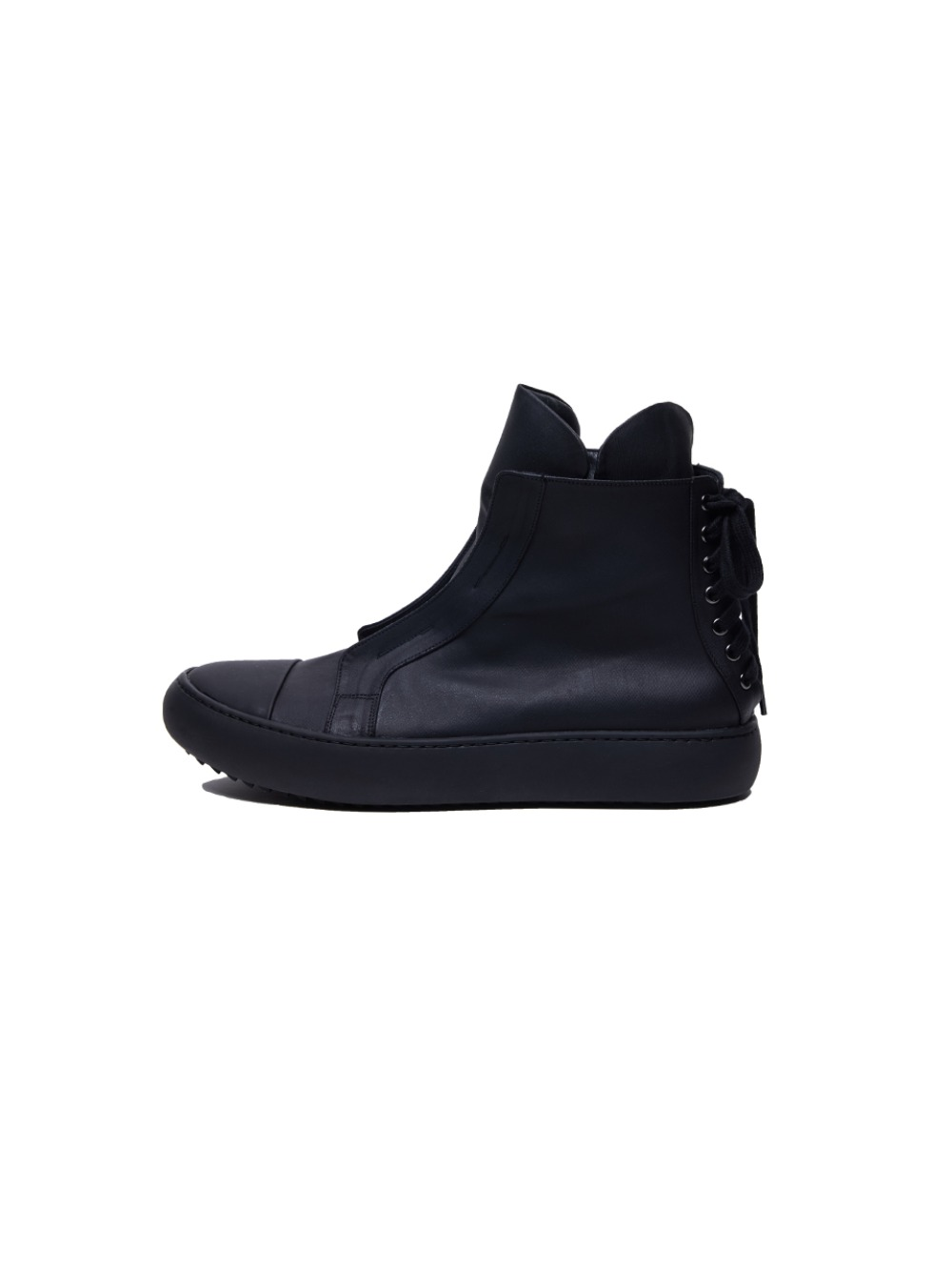 [20FW][30%SALE] Sharksole Back Lace-up High Top (BK)_ PA3SU0404